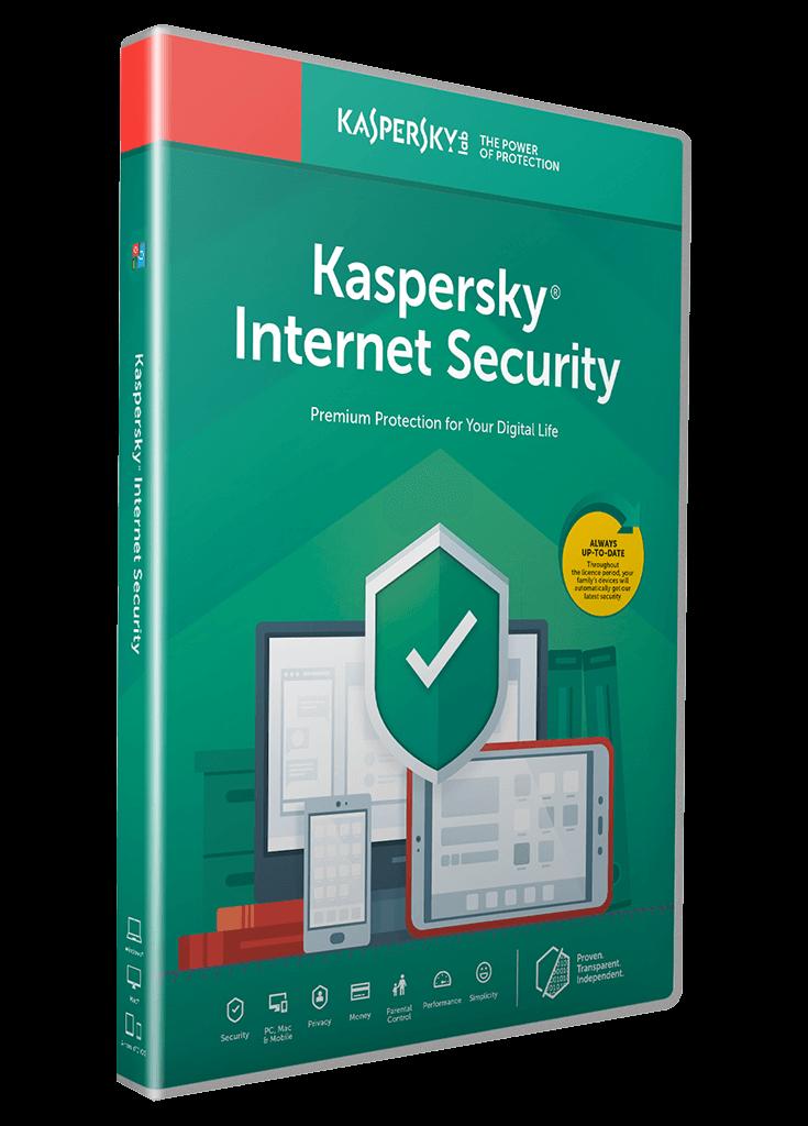 Kaspersky Internet Security 2 User 1 Year فايا كودز
